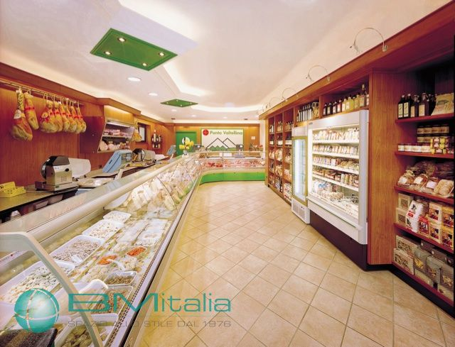 progettazione e realizzazione arredamenti per negozi bm