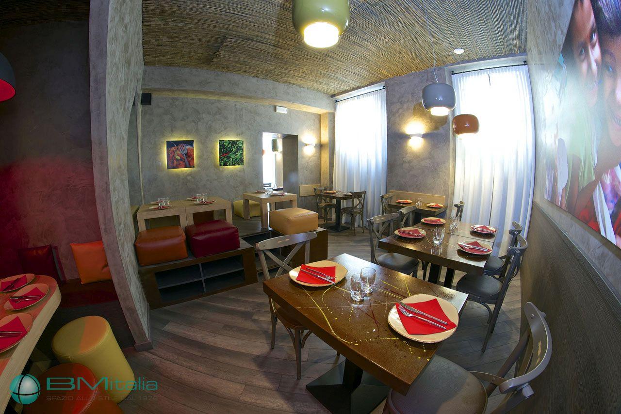 Arredamenti per ristoranti bar newformat contract for Bm arredamenti