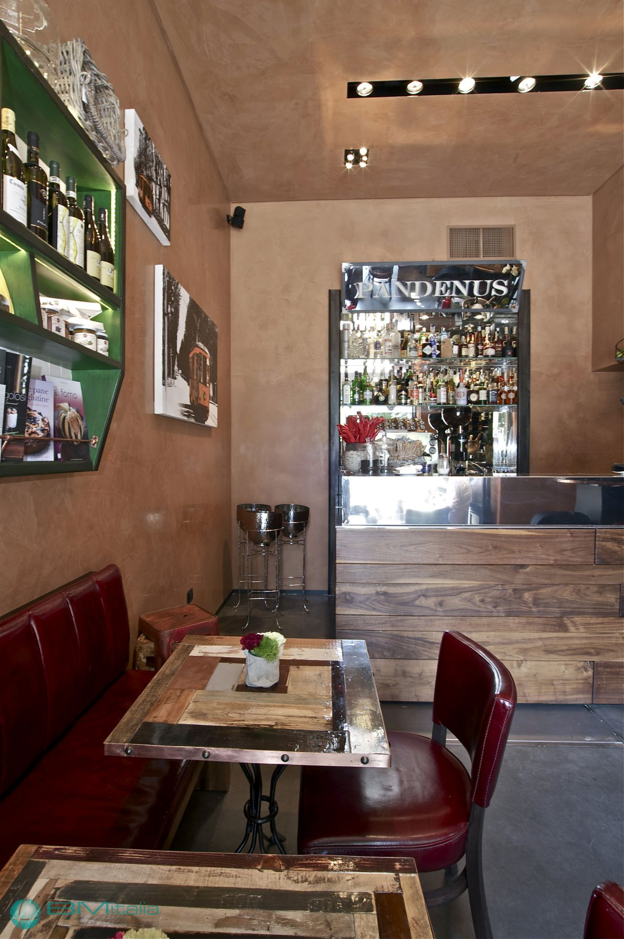 Arredamenti per locali pubblici panetterie bar caffetterie for Arredamenti per panifici