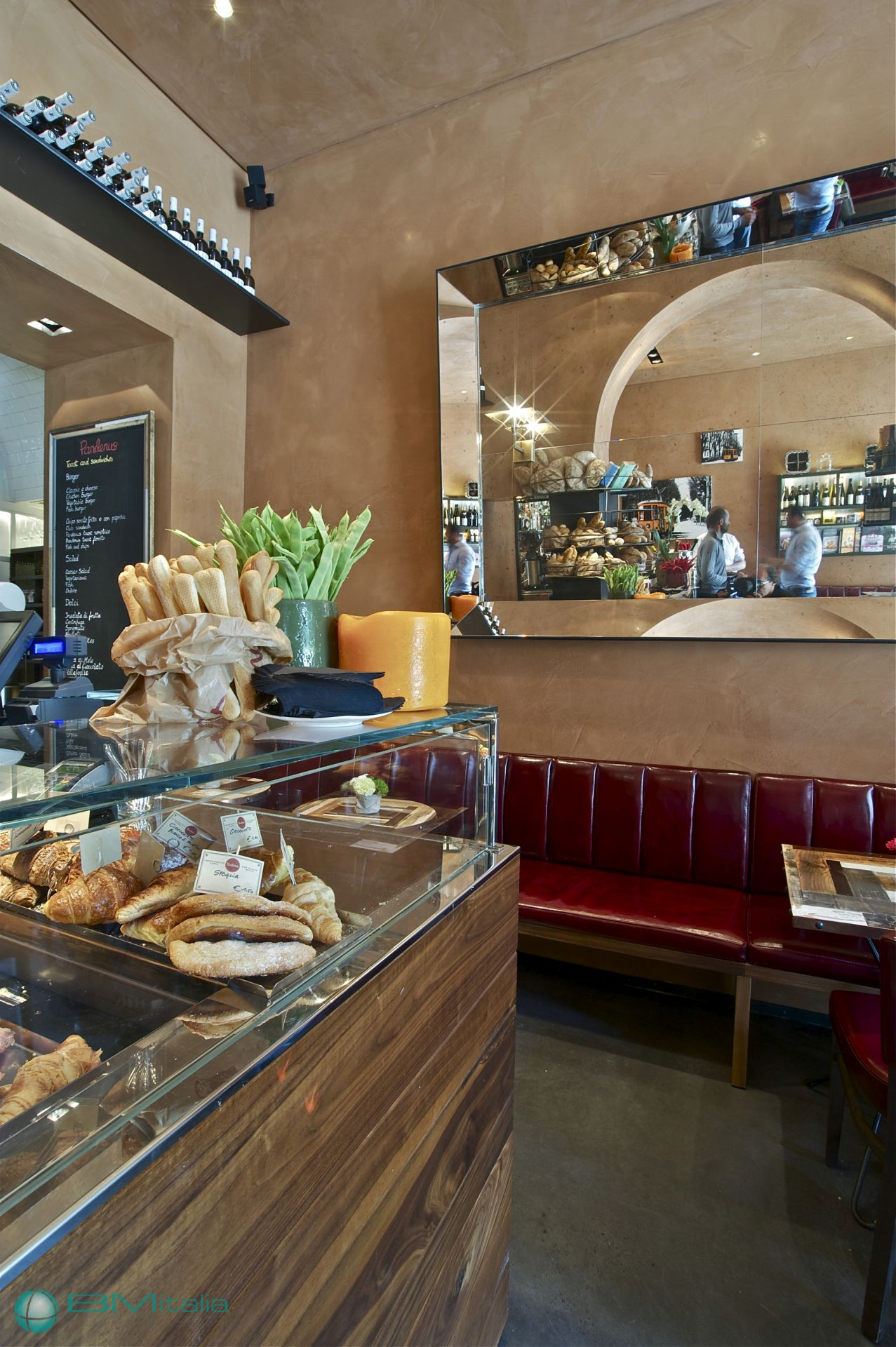 Arredamenti per locali pubblici panetterie bar caffetterie for Arredamenti per panetterie