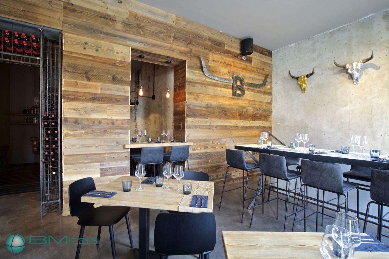 Progettazione arredamenti per ristorante smokehouse for Arredi italia