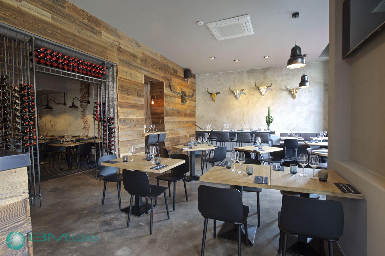 Progettazione arredamenti per ristorante smokehouse for Bm arredamenti