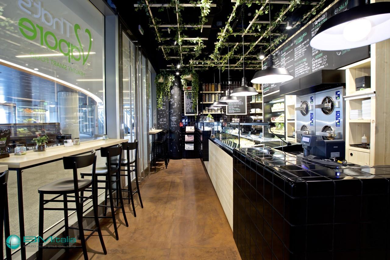 Arredamenti per ristorante that 39 s vapore milano for Italia arredo