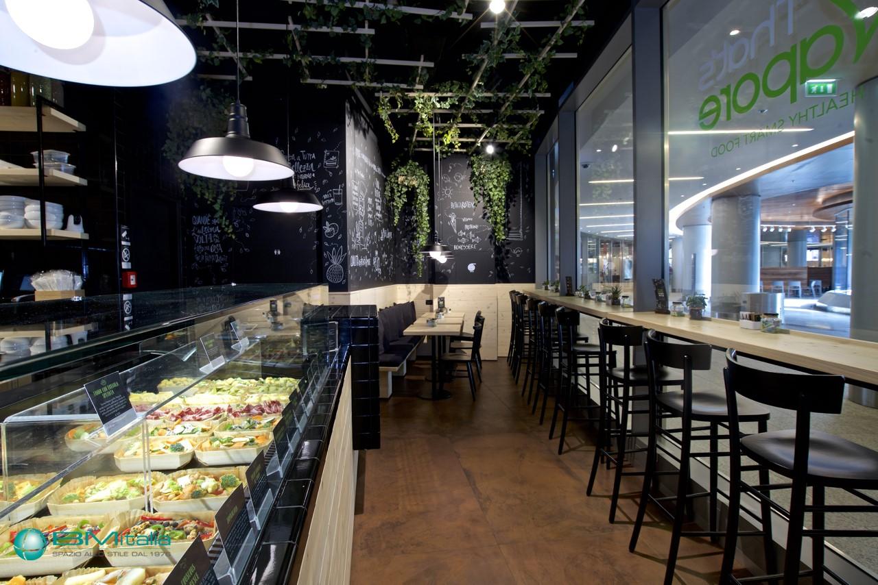 Arredamenti per ristorante that 39 s vapore milano for Arredamenti per ristorante
