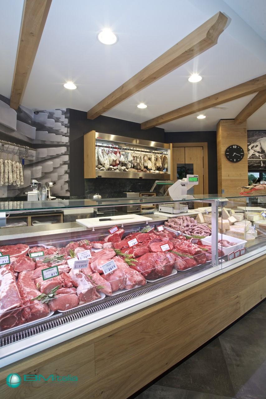 Progettazione realizzazione arredo negozi food nofood for Arredo salumeria