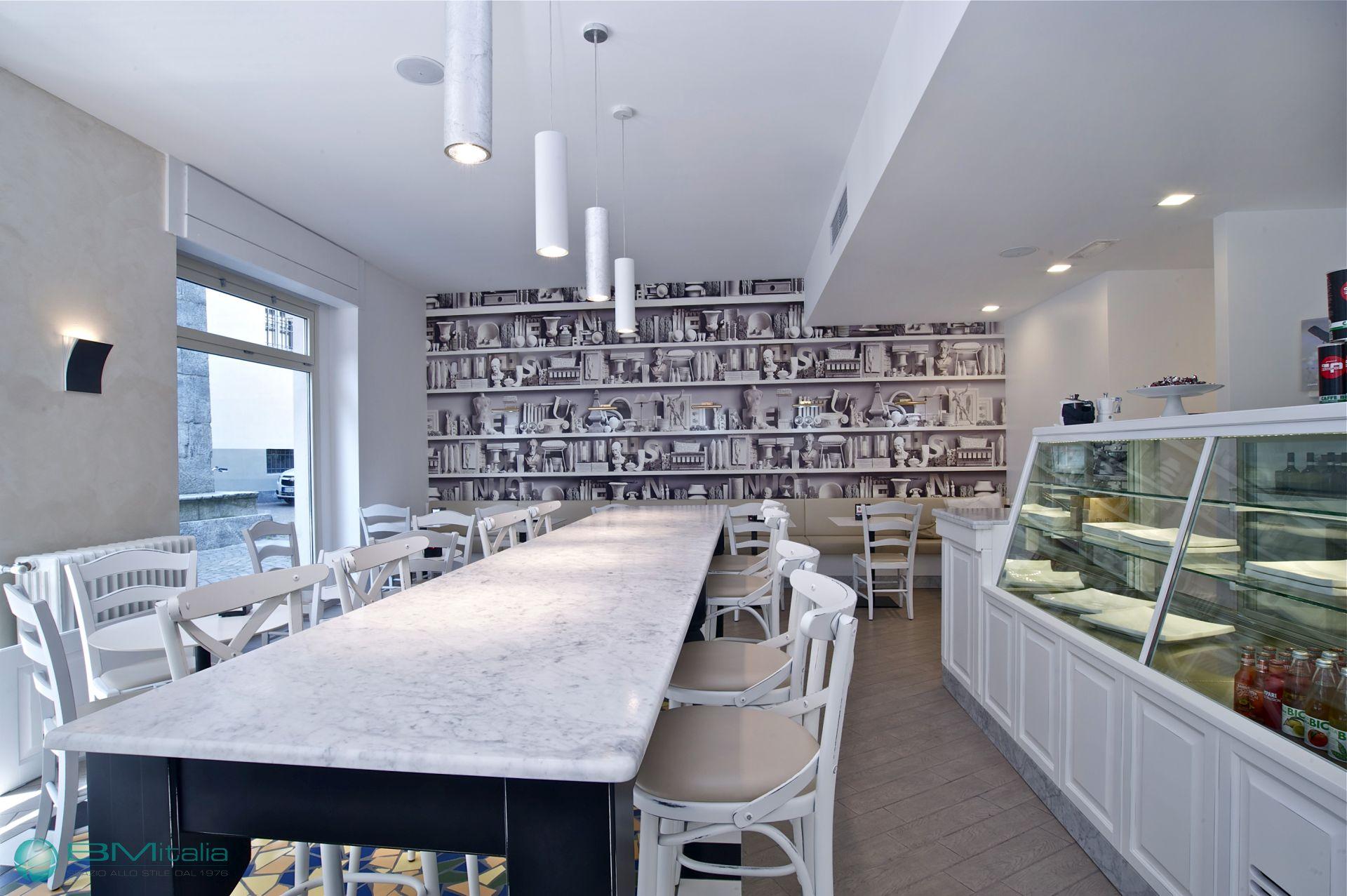 Progettazione consulenza e arredamenti per caffetteria for Af arredamenti