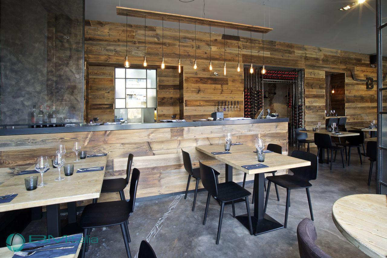 Progettazione arredamenti per ristorante smokehouse for Arredamenti per ristorante
