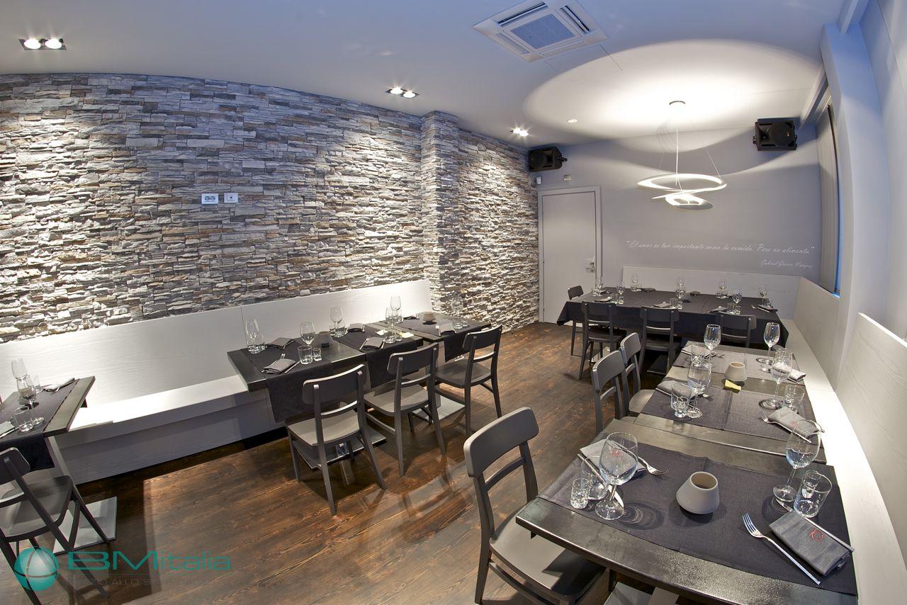 Progetto produzione arredo bar pub ristorante milano bmitalia for Df arredamenti